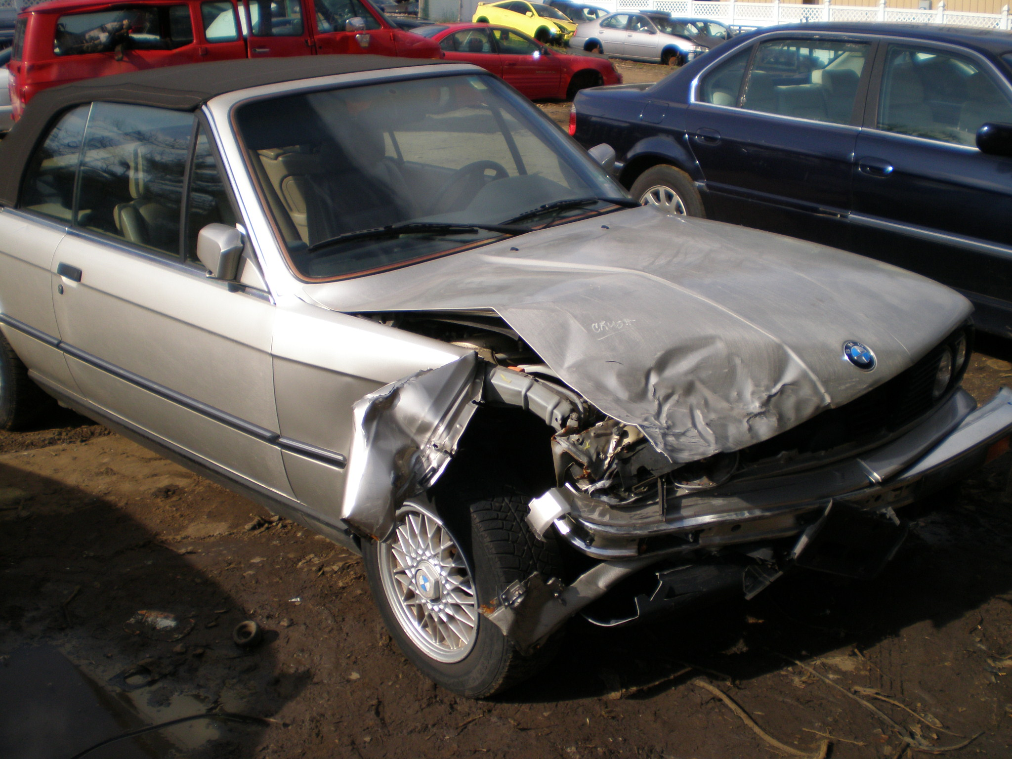 Bmw 1990 325i Std 2dr 2wd Convertible G 27 Big A Used Auto Parts