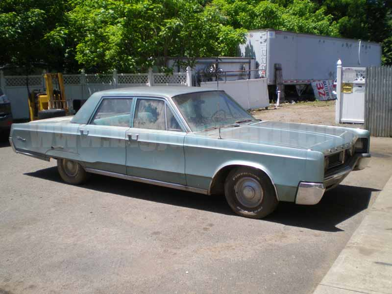 Parting Out 1967 Chrysler Newport M-29