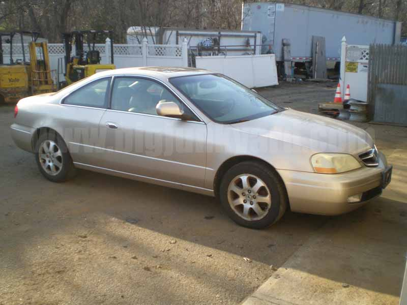 Parting Out 2001 Acura CL 3.2L FWD Coupe N-8