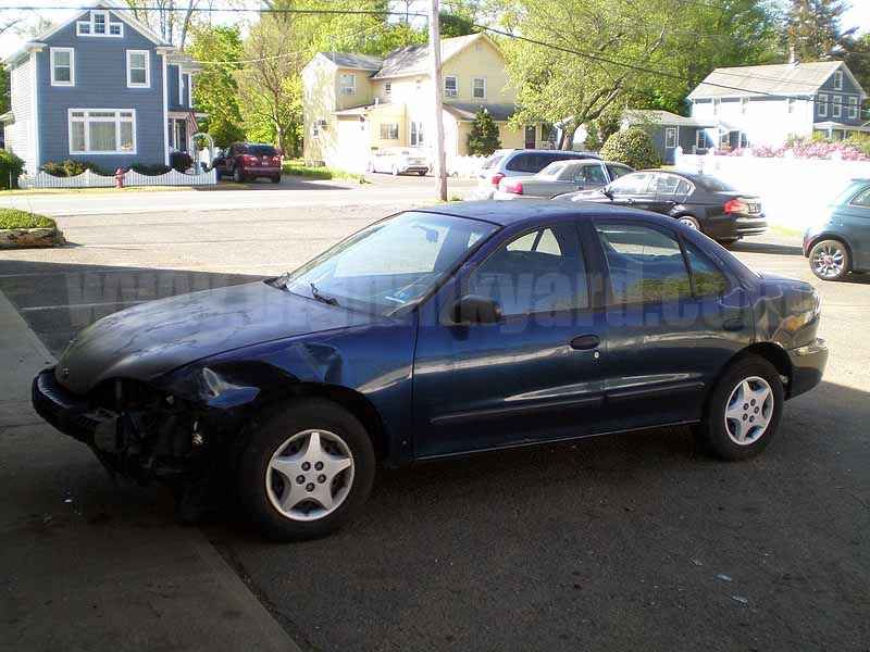 Parting Out 2002 Chevy Cavalier Sedan N-14